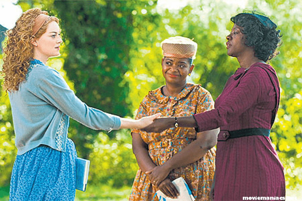 The Help เรื่องราวของสาวใช้ผิวดำ กับ คุณนายผิวขาวในยุคที่ยังมีการเยียดสีผิวอยู่ ในยุค 1960s โดย สกีเตอร์(เอ็มม่า สโตน) สาวผิวขาว
